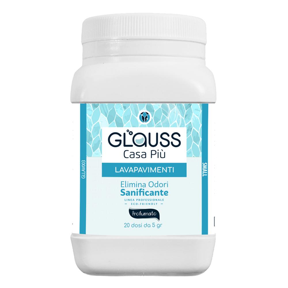 Glauss lavapavimenti sanificante detergente elimina odori 20 dosi
