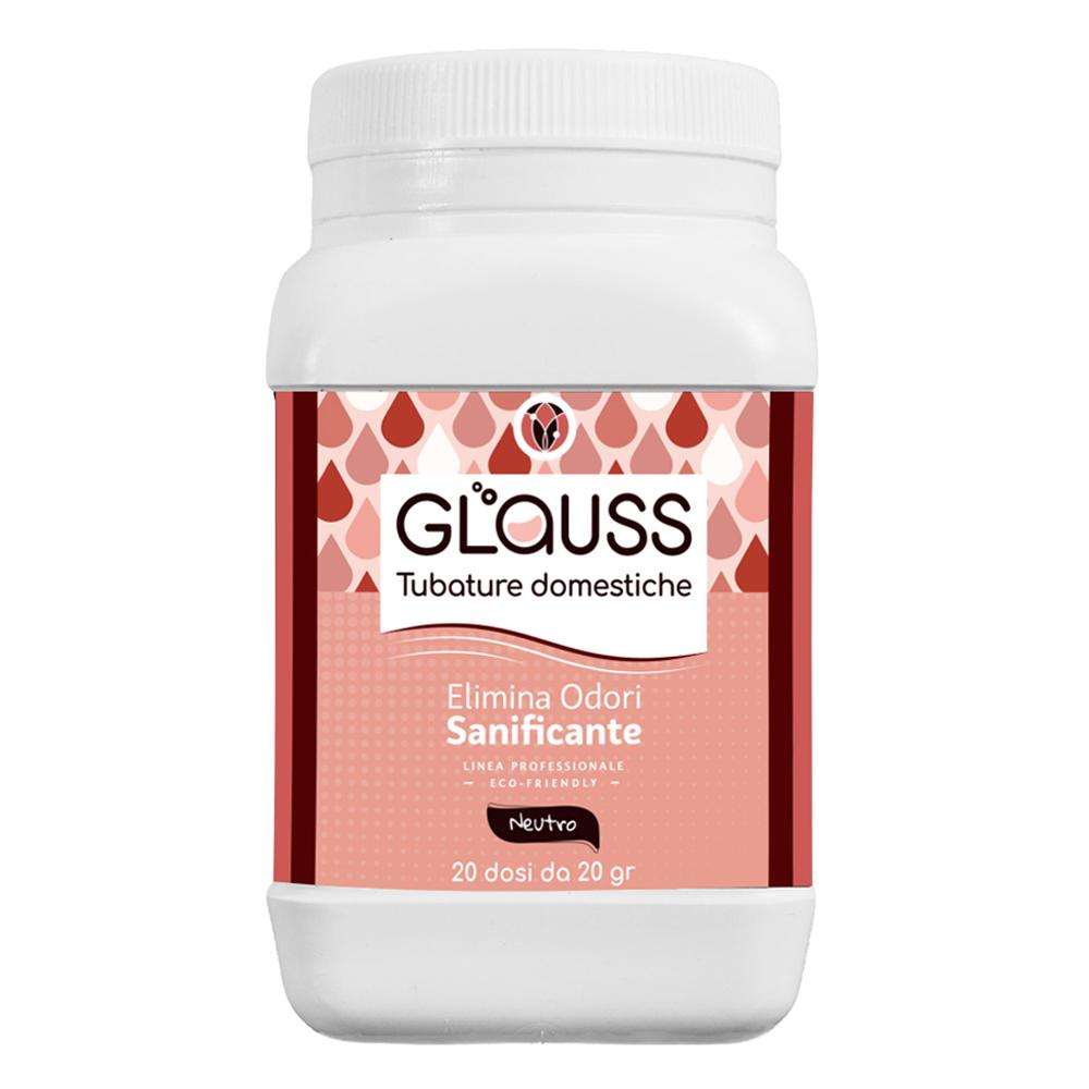 glauss tubature domestiche sanificante elimina odori 20 dosi